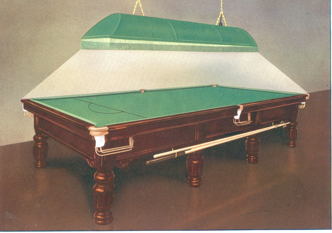 Luminaire Lighting Tournament Style Snooker Table cheapest and best on